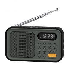 SYTECH SY1648NG RADIO AM/FM CON RELOJ Y ALARMA NEGRO características precio