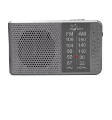 SYTECH SY1662PL RADIO DE BOLSILLO CON ALTAVOZ GRIS características precio