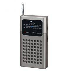 SYTECH SY1664PL RADIO DE BOLSILLO CON ALTAVOZ PLATA características precio