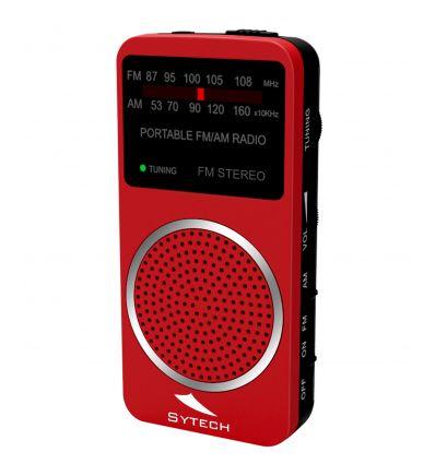 SYTECH SY1675RJ RADIO DE BOLSILLO ESTREO características precio