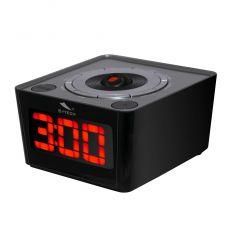 SYTECH SY1034NG RADIO DESPERTADOR CON PROYECCIÓN Y RADIO NEGRO características precio