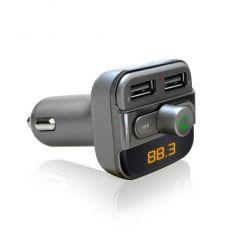 SYTECH SY1536BT TRANSMISOR FM BLUETOOTH CON USB Y MANDO características precio
