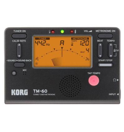 KORG TM-60TR-BK precio características