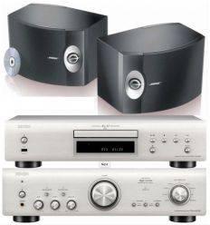 DENON PMA-800 SILVER + DCD800 SILVER + BOSE 301 características precio