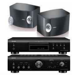 DENON PMA-800 BLACK + DCD800 BLACK + BOSE 301 características precio