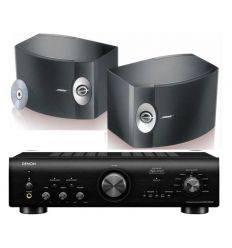DENON PMA-800 BLACK + BOSE 301 características precio