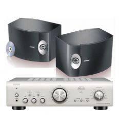 DENON PMA-800 SILVER + BOSE 301 características precio