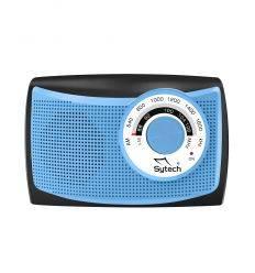 SYTECH SY1652A RADIO PORTATIL AZUL características precio