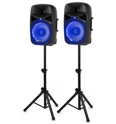 VONYX 178.130 VPS122A mejores altavoces bafles activos amplificados baratos casa fiestas dj