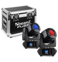 BEAMZ 150.383 SET 2 FUZE75S Y MALETA TRANSPORTE características precio