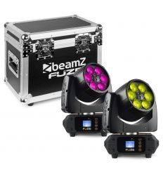 BEAMZ 150.387 SET 2 FUZE610Z Y MALETA TRANSPORTE características precio