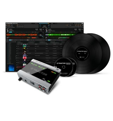 NATIVE INSTRUMENTS TRAKTOR SCRATCH A6 pro 3 dvs sistema vinilo cd digital vinyl systems mp3 pinchar dj software comprar precio