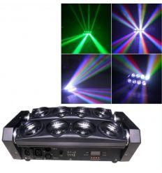 PRO-DJ SPIDER BEAM MOVIL 80W RGBW (abierto) características precio