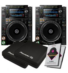 PACK PIONEER DJ CDJ-2000NXS2
