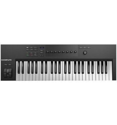 NATIVE INSTRUMENTS KOMPLETE KONTROL A-49 A49 teclado midi produccion musical productor estudio teclas economico opiniones barato