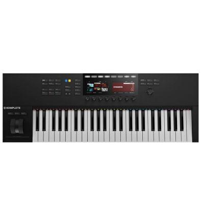 NATIVE INSTRUMENTS KOMPLETE KONTROL S49 MK2 mejor teclado midi producción musical pantallas dj estudio precio