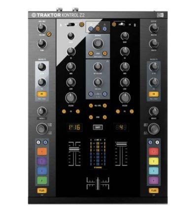 NATIVE INSTRUMENTS TRAKTOR KONTROL Z2 mezclador mesa de mezclas mixer scratch pro 3 dvs digital vinyl system scratch pinchar