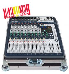 Walkasse Flight case Mezclador Soundcraft® SIGNATURE12 Plata