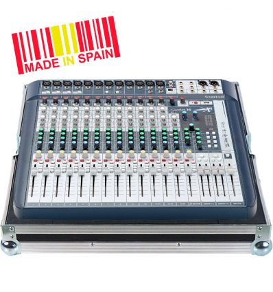 Walkasse Flight case Mezclador Soundcraft® SIGNATURE16 Plata
