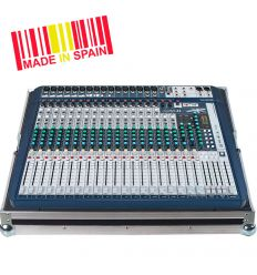 Walkasse Flight case Mezclador Soundcraft® SIGNATURE22 Plata