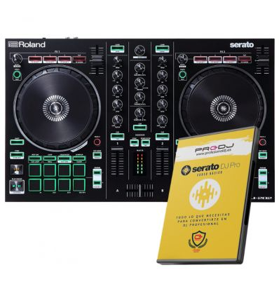 ROLAND DJ-202 + CURSO ONLINE SERATO DJ PRO