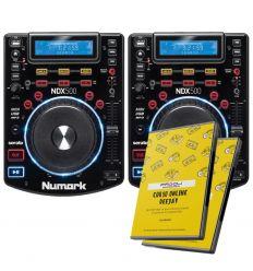 PAREJA NUMARK NDX 500 + CURSO ONLINE DEEJAY