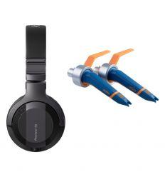 ORTOFON CONCORDE MKII TWIN DJ + PIONEER DJ HDJ-CUE1