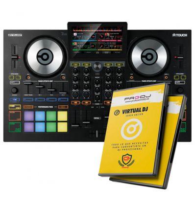 RELOOP TOUCH + CURSO ONLINE VIRTUAL DJ