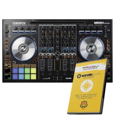 RELOOP MIXON 4 + CURSO ONLINE SERATO DJ PRO