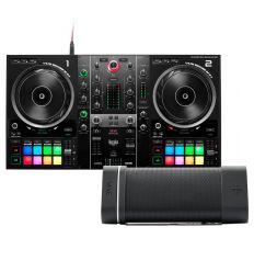 HERCULES DJ CONTROL INPULSE 500 + HERCULES WAE OUTDOOR 04 PLUS FM