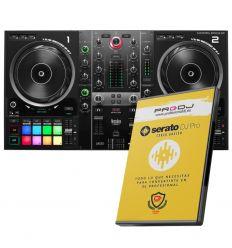 HERCULES DJ CONTROL INPULSE 500 + CURSO ONLINE SERATO DJ PRO