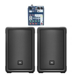 PACK JBL IRX 108BT + SOUNDCRAFT NOTEPAD-5