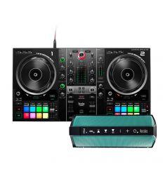 HERCULES DJ CONTROL INPULSE 500 + HERCULES WAE OUTDOOR RUSH
