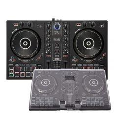HERCULES DJ CONTROL INPULSE 300 + DECKSAVER HERCULES 300