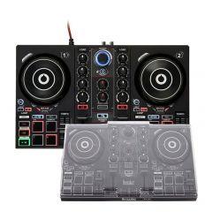 HERCULES DJ CONTROL INPULSE 200 + DECKSAVER HERCULES