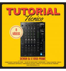 TUTORIAL TÉCNICO DENON DJ X1850 PRIME